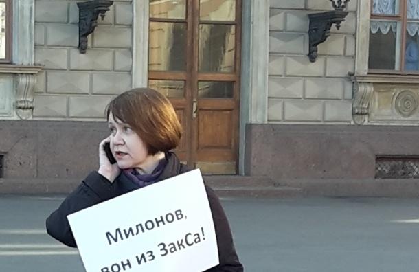 Антигомофобные пикеты прошли в Петербурге