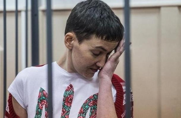Савченко вернулась к нормальному режиму питания