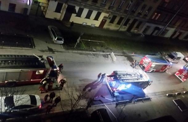 Пожар в коммуналке на Васильевском устроил пьяный житель
