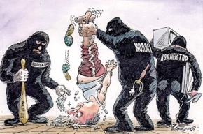 Коллектор из Петербурга запугивал полицейских и угрожал расправой их близким