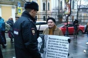 Полиция обещает скоро отпустить задержанных на Владимирской площади