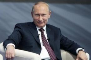 Работой Владимира Путина довольны 82% россиян