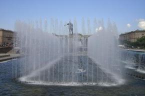 Сезон фонтанов открывается сегодня в Петербурге