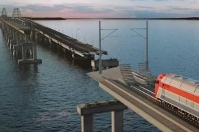 Первая опора Керченского моста появилась в Крыму