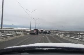 Массовая авария из пяти машин произошла на Волхонском шоссе