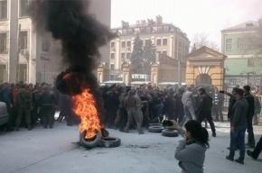 Активисты «Автомайдана» столкнулись с полицией у резиденции Порошенко
