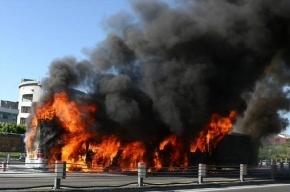 Автобус взорвался в Стамбуле