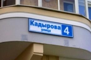 Смольный снова просят назвать улицу или площадь Петербурга в честь Ахмата Кадырова