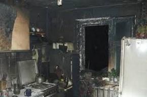 Из горящей коммуналки на Пушкинской эвакуировали 20 человек