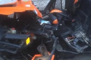 Водитель багги погиб в аварии с внедорожником на Приозерском шоссе