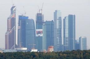 Рабочий упал с сотого этажа «Москва-Сити»