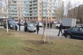 Очевидец: Пьяный водитель сбил женщину на проспекте Ударников