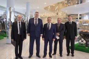 Санкт-Петербург поддержит инвестпроекты ТАУРАС-ФЕНИКС