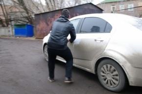 Преступник разбил угнанный автомобиль и сдал его в металлолом