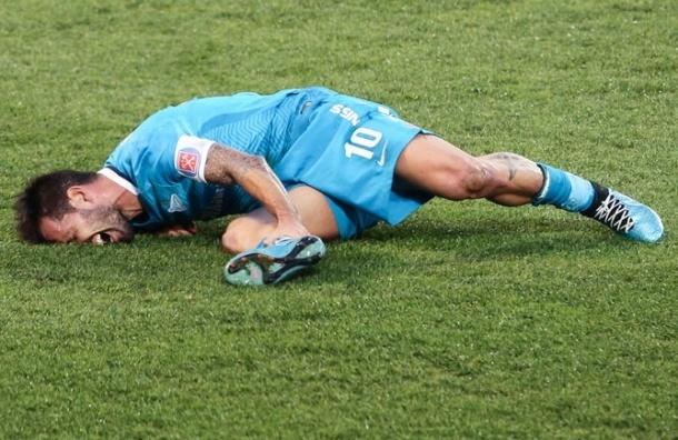 Футболист «Зенита» Данни выбыл на 9 месяцев после серьезной травмы