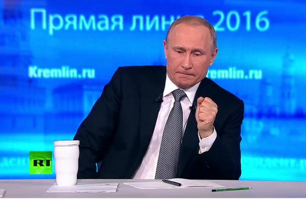 Житель Дагестана спросил Путина о причинах создании Нацгвардии