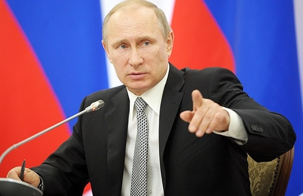 Путин не поздравил с Днем Победы Украину и Грузию