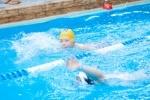 Ученики школ Василеостровского района сдали нормы ГТО по плаванию: Фоторепортаж