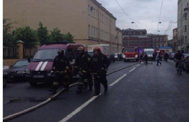 Пожар на Бронницкой тушили по высшему рангу