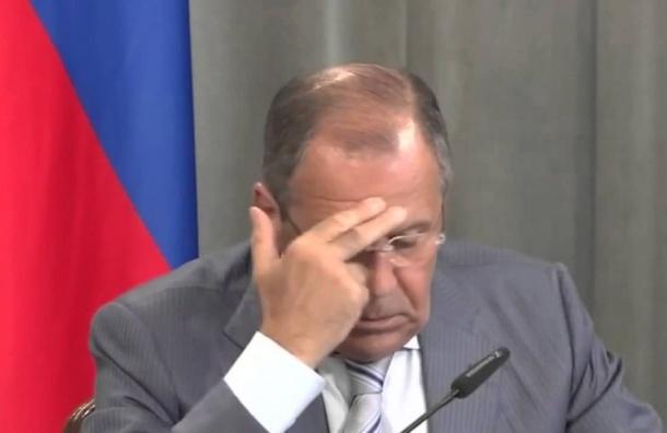 Лавров рассказал про инцидент с его фразой «дебилы, ***дь»