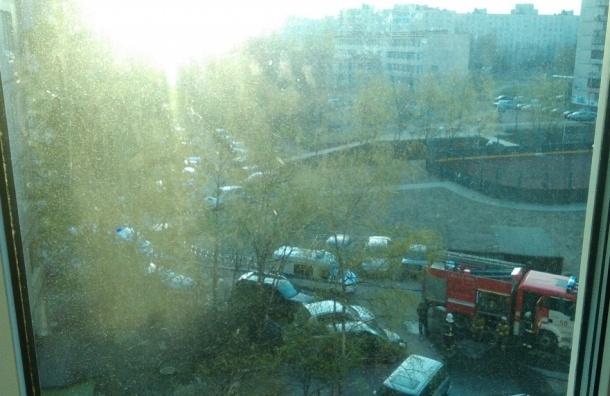 Двухкомнатная квартира сгорела на Ярослава Гашека
