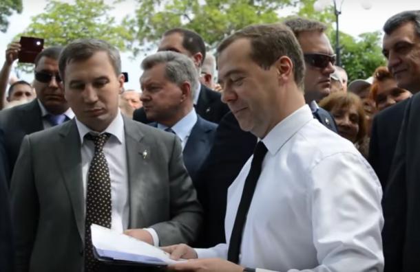 Украина недовольна рабочей поездкой Медведева в Крым