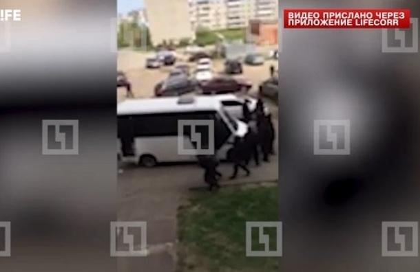 СМИ опубликовали кадры задержания убийцы пяти байкеров в Подмосковье