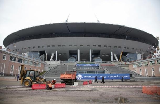 «Зенит-арена» готова на 85%