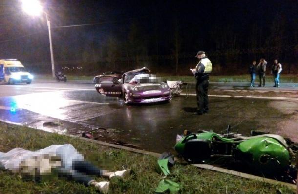 Ночные автогонки в Шушарах закончились смертью двух человек
