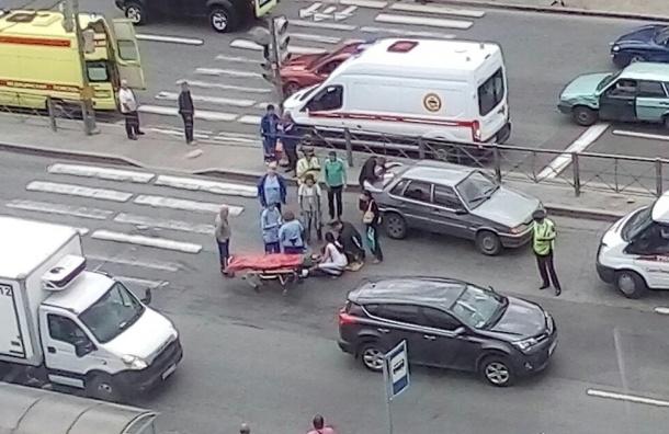 Второклассник попал под колеса на Софийской