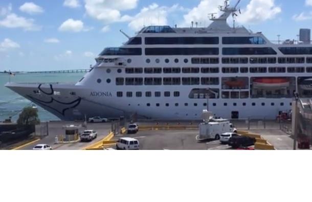 Первый за полвека круизный лайнер отправился из Майами на Кубу