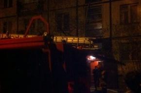 Пожар на Науки тушили 8 спасателей