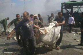 Серия взрывов произошла в сирийских провинциях, в которых расположены военные РФ