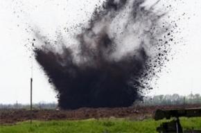 Бомбу, брошенную через забор, взорвали на базе полиции в Харькове