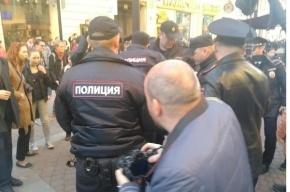 Задержано 30 человек на первомае в Петербурге