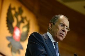 Лавров: об отмене санкций речи пока не идет