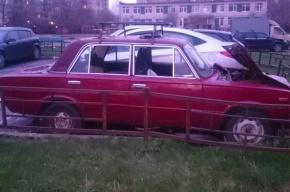 Петербуржцы готовы помочь деду, машину которого разбили вандалы