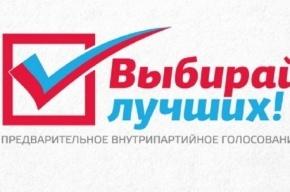 Источник: известны победители праймериз в Петербурге