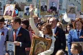 Наталья Поклонская прошла с иконой Николая II в