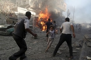 Число погибших в Сирии в теракте стали около 100 человек
