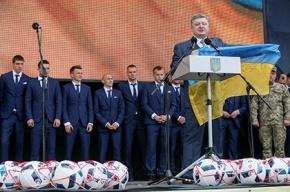 Порошенко обещал спеть национальный гимн в Донецке
