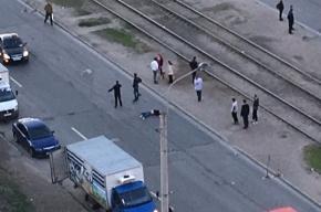 Иномарка сбила мужчину насмерть на Наставников