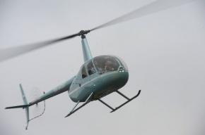 Вертолет потрепел аварию в районе Лахты