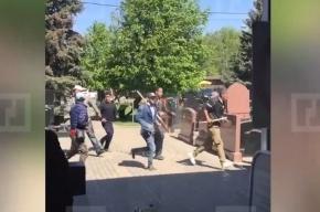 МВД: никто из участников драки на Хованском кладбище не работал там