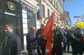 Полицейские хором ответили Милонову: «Воистину воскрес»
