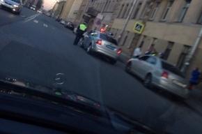 Машина сбила ребенка на перекрестке Рижского и Либавского