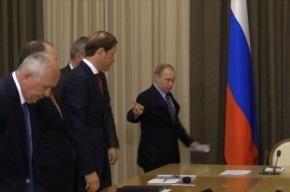 Рогозин прокомментировал инцидент с галстуком на приеме у президент
