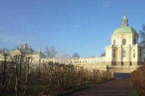 Большой Меншиковский дворец в Ораниенбауме горел утром 2 мая