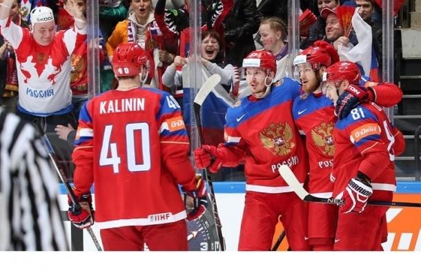 Сборная России разгромила Норвегию на ЧМ по хоккею