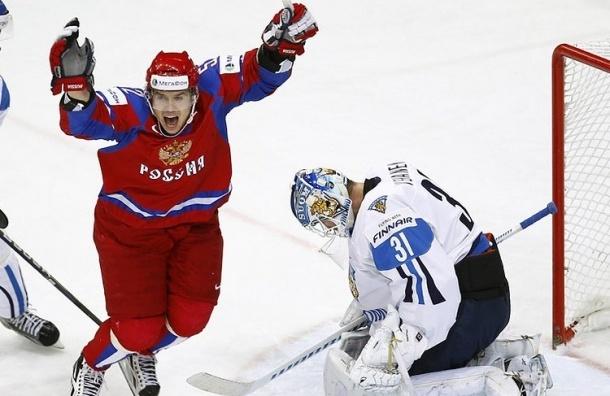 Россия открыла счет в матче ЧМ по Хоккею